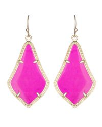 Kendra Scott | Purple Alex Earrings | Lyst