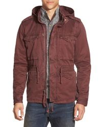 Lucky Brand - Purple Military Jacket for Men - Lyst