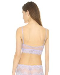 Only Hearts - Purple So Fine Lace Bralette - Lilac - Lyst