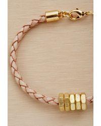 Forever 21 - Metallic Half United The Honeybee Bracelet - Lyst