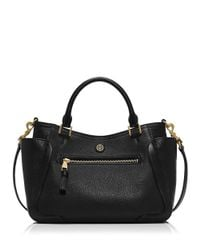 Tory Burch - Black Frances Slouchy Satchel - Lyst
