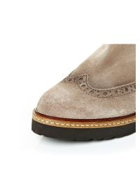 Moda In Pelle - Natural Bertola Low Casual Short Boots - Lyst