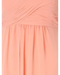 Jane Norman | Orange Pleated Bust Maxi Dress | Lyst