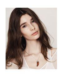 Jenny Bird - Orange Wildland Necklace - Small - Lyst