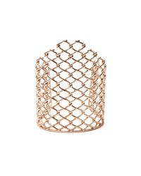 Alexis Bittar | Metallic Liquid Rose Gold Barbed Link Cuff You Might Also Like | Lyst