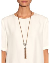 Lulu Frost - Metallic Symmetry Necklace - Lyst