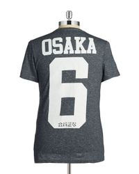 Superdry | Blue Osaka Tee for Men | Lyst