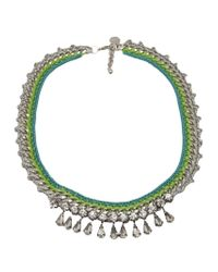 Venessa Arizaga - Blue 'bahama Mama' Necklace - Lyst