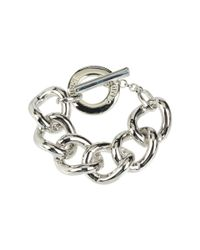 Vince Camuto | Metallic Puff Link Toggle Bracelet | Lyst