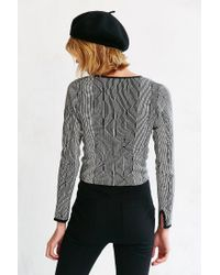 Silence + Noise - Black Darcy Sweater - Lyst