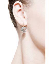 Sylva & Cie | Metallic One Of A Kind Thorn Rough Cut Diamond Earrings | Lyst