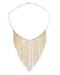 Lana Jewelry | Metallic 14k Gold Fringe Choker Necklace | Lyst