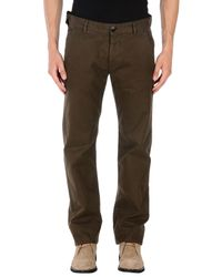 Stone Island - Green Casual Trouser for Men - Lyst