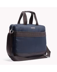 Tommy Hilfiger | Blue Olivier Briefcase for Men | Lyst