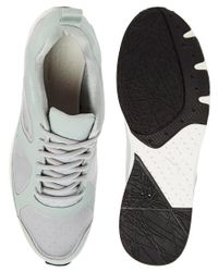 PUMA - Gray Puma Chalayan Haast Sneakers for Men - Lyst