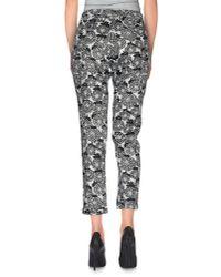 Altea - White Casual Pants - Lyst