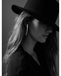 Jenny Bird - Metallic Long Horn Tusk Earrings - Lyst
