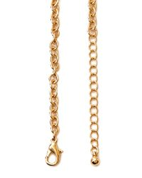 Forever 21 - Metallic Crescent Armor Necklace - Lyst