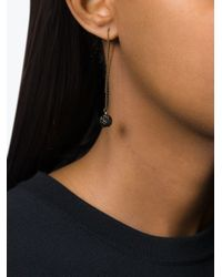 Isabel Marant | Black 'the Party' Chain Earrings | Lyst