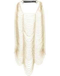 Brunello Cucinelli | Metallic Oversized Necklace | Lyst