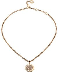 BVLGARI | - Reva 18ct Pink-gold And Diamond Necklace | Lyst