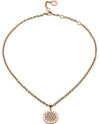 BVLGARI - - Reva 18ct Pink-gold And Diamond Necklace - Lyst