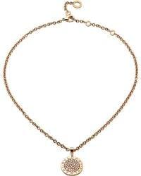 BVLGARI | - Reva 18ct Pink-gold And Diamond Necklace | Lyst