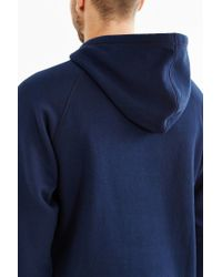 Adidas Originals - Blue Originals Trefoil Hoodie Sweatshirt for Men - Lyst