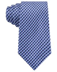 Michael Kors - Blue Michael Multi Pick Tile Tie for Men - Lyst