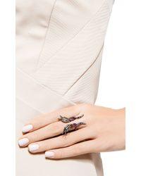 AS29 - Metallic Fire Butterfly Ring - Lyst