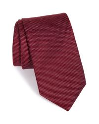 Eton of Sweden | Purple Textured Silk Tie for Men | Lyst