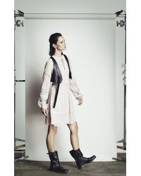 BCBGMAXAZRIA - White Runway Adalene Dress - Lyst