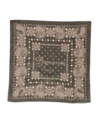 DSquared² | Green Square Scarf for Men | Lyst