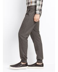 Vince - Gray Luxe Blend City Jogger for Men - Lyst
