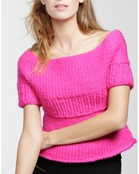 Wool And The Gang | Pink Juliet Top | Lyst