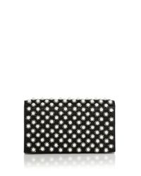 Alice + Olivia - Black Embellished Clutch - Lyst