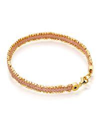 Astley Clarke | Pink Perfect Day Nugget Bracelet | Lyst