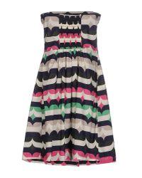 Suoli - Black Short Dress - Lyst