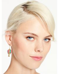 kate spade new york - Multicolor Up Up And Away Drop Earrings - Lyst