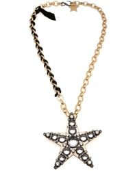 Lanvin | Metallic 'altair' Necklace | Lyst