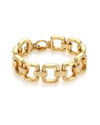 Vaubel | Metallic Square Link Bracelet | Lyst