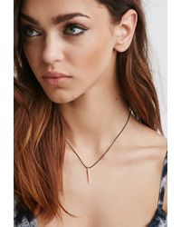 Forever 21 | Metallic Luna Norte Audry Necklace | Lyst
