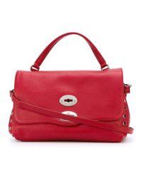Zanellato - Red Postina Small Leather Satchel - Lyst