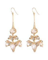 Alexis Bittar | Metallic Jagged Diamond Chandelier Earring You Might Also Like | Lyst