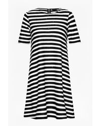 French Connection | Black Railroad Stars Dress | Lyst