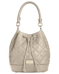 DKNY | Natural Gansevoort Quilted Bucket | Lyst