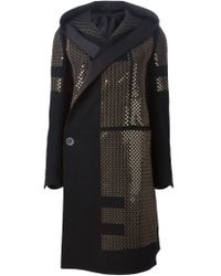 Rick Owens - Metallic Sequined Coat - Lyst