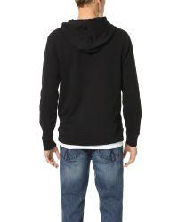 Calvin Klein Jeans - Black Ck Jeans Reissue Hoodie for Men - Lyst