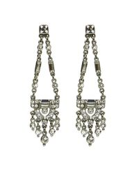Ben-Amun | Metallic Deco Triangle Drop Earrings | Lyst