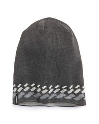 Patagonia | Gray 'flippin' Reversible Beanie for Men | Lyst
